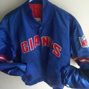 Vtg NY Giants Starter Jacket